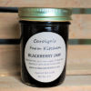 Blackberry Jam in jar
