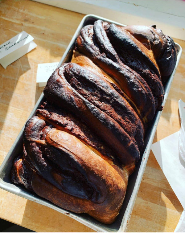 Chocolate Hazelnut Babka