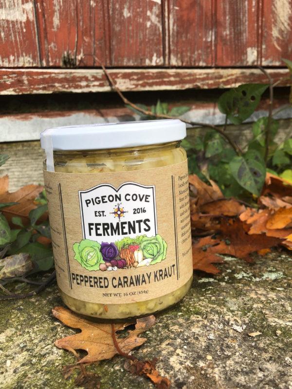 Peppered Caraway sauerkraut