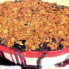 blueberry summer fruit crumble