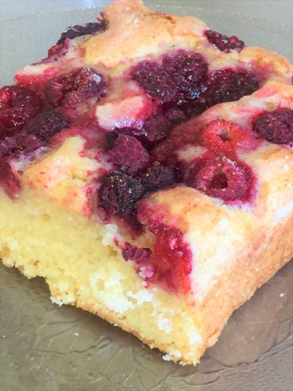 raspberry buckle coffeecake