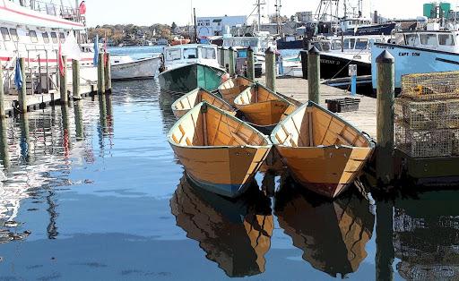 dories gloucester harbor